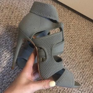 Army green sandals